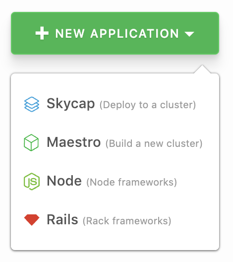 Start a new Skycap build pipeline